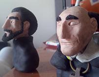 Bustos en Plastilina