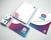 Identidad Corporativa THINK  Soluciones Publiciarias