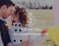 Wedding WordPress Theme - Landing Page