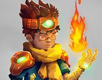 Inca/Maya concept game.