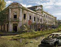 Pós Apocalipse: Caxias do Sul - Largo da Estação Férrea