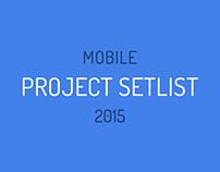 Project Setlist 2015