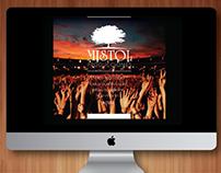 LOGOTIPO Y PAGINA WEB Productora Musical Mistol
