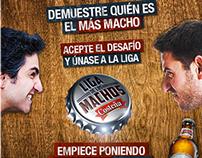 Liga de los Machos | CERVEZA COSTEÑA