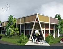 Tesis Arquitectura:Centro de Tecnificacion de Futbol