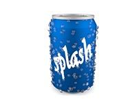 Modelado 3D de lata de refresco