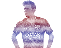 Messi Records - Typographic