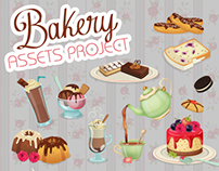 Bakery and Coffee (Vector Assets)