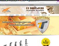 Website Institucional do Enzza Serviços
