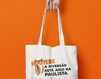 Sacola Inauguração - Hooters Brasil - Paulista