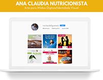 Mídias Digitais - Ana Claudia Nutricionista