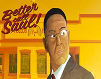 POSTER: Gus Fring - Better Call Saul (FanArt)