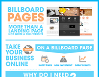 Landing Pages Infographic