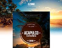 Flyer Elesmar - Acapulco