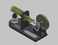 Modelo en 3D de un Motor Stirling según diseño del MIT.