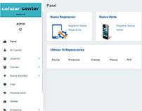 Pagina de Sistema para Administracion de Tienda