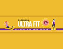 banner youtube, Ultra fit