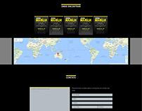Conversão de telas em PSD para HTML/CSS