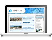 Web design: hidrocaven