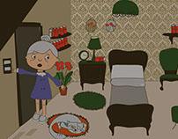 Corto animado: La abuela Mercedes quiere dormir