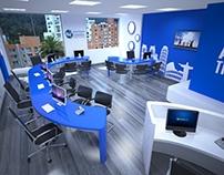 Proyecto Interlatina - Diseño oficinas