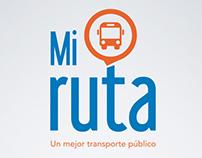 UX / UI Design Mi Ruta