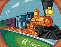 El Viaje (ilustraciones para portafolio impreso)