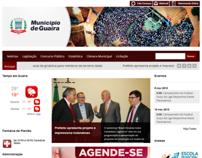 website prefeitura guaíra parana