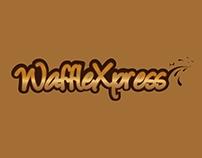 WaffleXpress Logo (Waffle Shop)