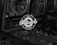 Millonaria Pinball Association - Logo Design