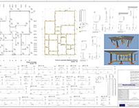 Projeto de Estrutura em Concreto Armado - Área: 165m²