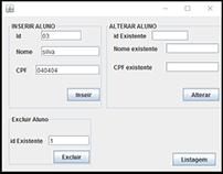 Java Desktop: Administração Escola 1.0