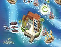 Terríveis Piratas Boardgame