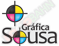LOGO AND CHARACTER DESIGN for Gráfica Sousa from Brazil