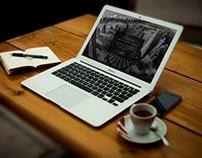 Landing page mercado financeiro.