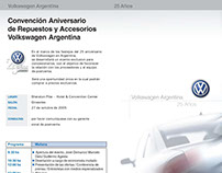 Schedule cronogram done for Wolkswagen Argentina