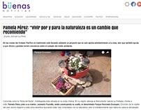Entrevista a Pamela Pérez