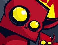 Square Devil © Illustration