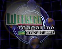 Weekend Magazine Bumper