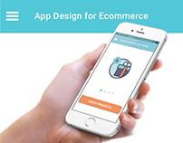 App Design for Ecommerce