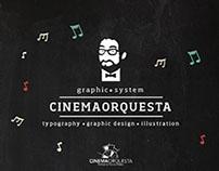 Cinemaorquesta- Graphic system