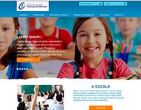 Website Centro Educacional Vinícius de Moraes