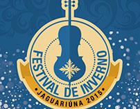 Logotipo Festival de Inverno de Jaguariúna