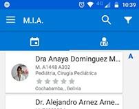 APP Citas y directorio de Doctores