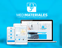 Web Interface - MEDIMATERIALES