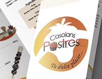 Publicidad y manejo de marca Casolans Postres