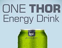 Cartaz Energético One Thor
