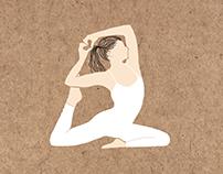 Illustration - Yoga