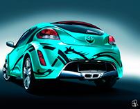 Design Automobilístico - Veloster