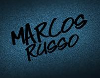 IDENTIDADE VISUAL DJ MARCOS RUSSO
